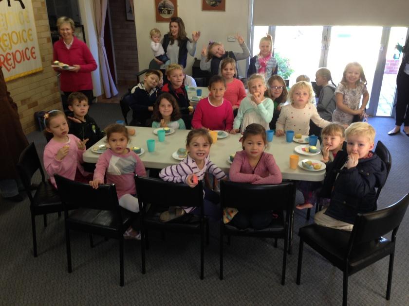 Kids Church morning tea